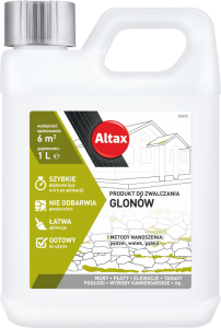 Preparat glonobójczy {Altax Do zwalczania glonów 5 l}