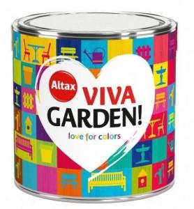 Emalia akrylowa {Altax Viva Garden 2,5 l}