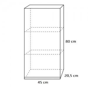 Szafka górna {Antado Combi ALT-114-R-WS 45×20,5×80 cm}