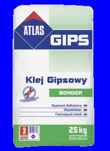 Klej do płyt gipsowo - kartonowych {ATLAS GIPS BONDER 25 kg}