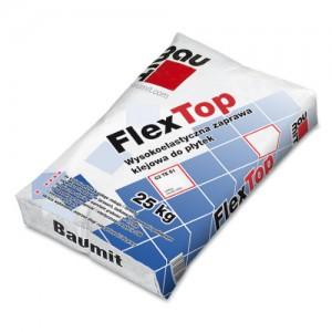 Wysokoelastyczna zaprawa klejowa do płytek {Baumit FlexTop 25 kg}