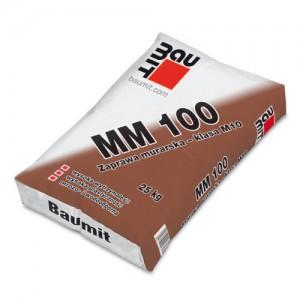 Zaprawa murarska - klasa M10 {Baumit MM 100 25 kg}