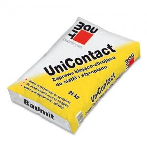 Zaprawa klejąco-zbrojąca do siatki i styropianu {Baumit UniContact 25 kg}