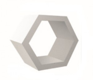 Beton architektoniczny {Libet Plaster miodu ażurowy 90x78x45 cm}