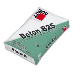 Gotowa wzmocniona mieszanka betonowa C20/25 {Baumit Beton B25 25 kg}