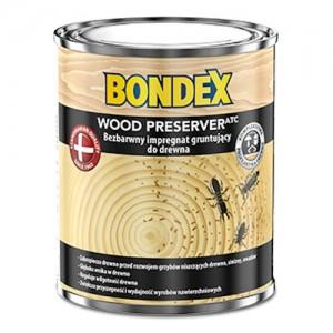 Bezbarwny impregnat gruntujący do drewna {Bondex Wood Preserver 5l}