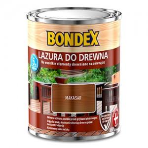 Lazura do wszystkich rodzajów drewna {Bondex Lazura Do Drewna 0,75l}