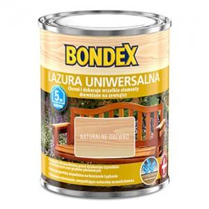 Lazura do wszystkich rodzajów drewna {Bondex Lazura Uniwersalna 6l}
