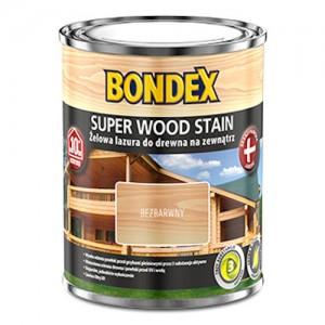 Żelowa lazura do zabezpieczania podłoży drewnianych {Bondex Super Wood Stain 2,5l}
