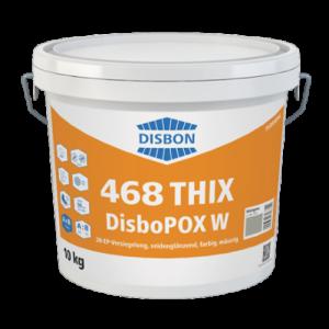 Żywica epoksydowa {Caparol 468 THIX DisboPOX W Kieselgrau 10kg}