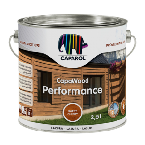 Lazura do drewna {Caparol CapaWood Performance 5l}