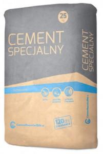 Cement specjalny {Odra CEM III/A 32,5 N-LH/HSR/NA 25 kg}