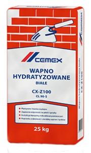 Wapno hydratyzowane {Cemex białe CX-Z100 25 kg}