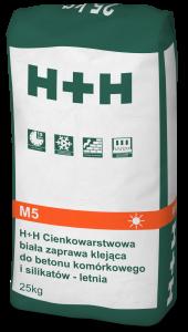 Cienkowarstwowa zaprawa klejąca {H+H 25 kg}