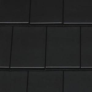 Dachówka ceramiczna {Creaton DOMINO czarna glazurowana}