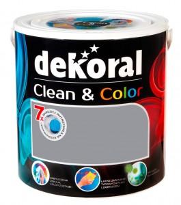 Satynowa farba lateksowa {Dekoral Clean&Color 2,5 l}