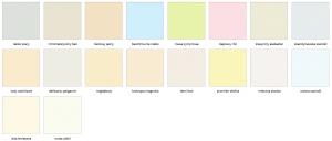 Matowa farba lateksowa odporna na zmywanie i szorowanie {Dekoral Voice of Color 5 l}