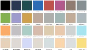 Matowa farba lateksowa odporna na zmywanie i szorowanie {Dekoral Voice of Color 2,5 l}