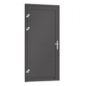 Drzwi boczne jednoskrzydłowe {Krispol DB RFS bez przetłoczeń}
