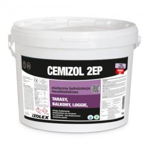 Elastyczna hydroizolacja {Izolex CEMIZOL 2EP 10 kg}