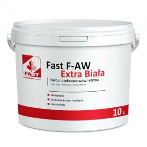 Farba dyspersyjna – wewnętrzna {Fast F-AW Extra Biała 10 l}