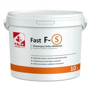 Farba silikatowa do malowania elewacji budynków {Fast F-S 10 l}