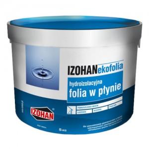 Półpłynna folia izolacyjna {IZOHAN EKOFOLIA 5 kg}