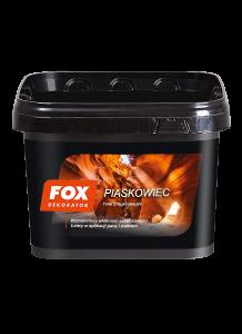 Tynk strukturalny {Fox Dekorator Piaskowiec 16kg}