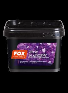 Tynk cienkowarstwowy szlachetny {Fox Dekorator Stiuk klasyczny 4kg}