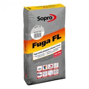 Fuga szeroka elastyczna z trasem 2-20 mm {Sopro Fuga FL 25 kg}