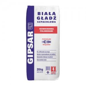 Biała gładź szpachlowa - typ C6/20/2 {ATLAS GIPSAR UNI 20 kg}