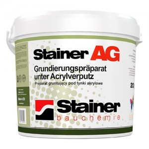 Grunt akrylowy podtynkowy {Stainer AG 20 kg}
