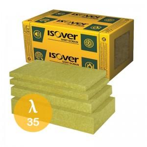 Wełna mineralna skalna {ISOVER VENTITERM 38 80 mm, 2,16 m2/paczka}