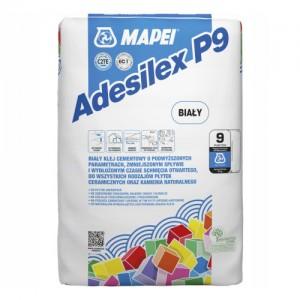 Klej do płytek {Mapei Adesilex P9 biały 25 kg}
