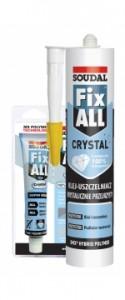 Klej-uszczelniacz przezroczysty {Soudal Fix All Crystal 80 ml}
