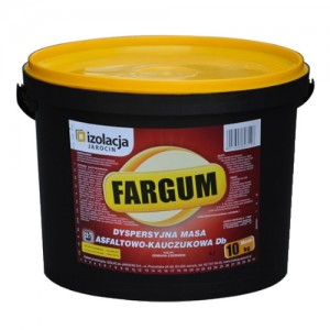 Kolorowa masa asfaltowo-kauczukowa {Izolacja Jarocin FARGUM 10 kg}