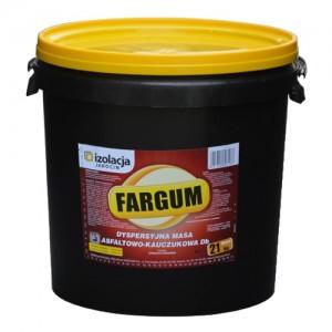 Kolorowa masa asfaltowo-kauczukowa {Izolacja Jarocin FARGUM 21 kg}
