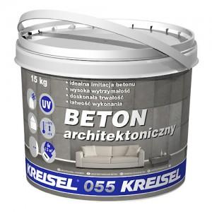 Polimerowy tynk modelowany, strukturalny {Kreisel BETON ARCHITEKTONICZNY 055 15 kg}