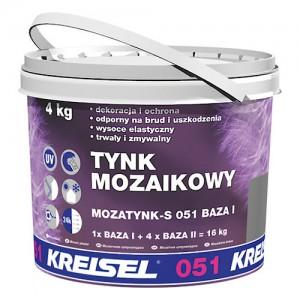 Akrylowy tynk mozaikowy {Kreisel MOZATYNK-S 051 1,2mm 4 kg}