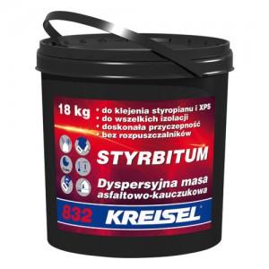 Asfaltowo-kauczukowa masa hydroizolacyjno-klejąca Dn {Kreisel STYRBITUM 832 9 kg}