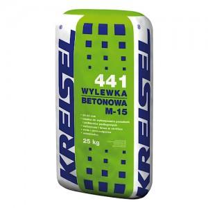 Cementowy, uniwersalny, podkład podłogowy {Kreisel WYLEWKA BETONOWA M-15 441 25 kg}