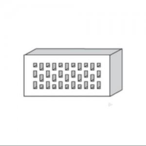 Cegła klinkierowa {LODE ETNA RF PERFOROWANA 250×120×65 mm}