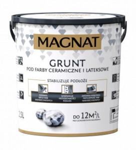 Grunt pod farby ceramiczne i lateksowe {Magnat grunt 10 l}