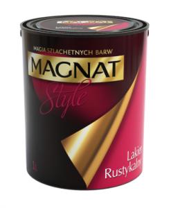 Lakier rustykalny bezbarwny {Magnat style 1 l}