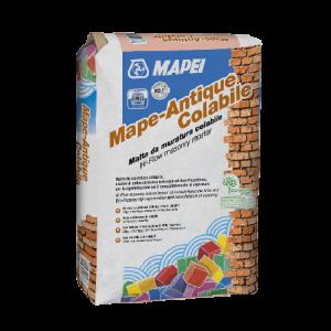 Bezcementowa, renowacyjna, ciekła zaprawa murarska {Mapei MAPE-ANTIQUE COLABILE MAPEI 25kg}