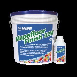 Dwuskładnikowa, poliuretanowa żywica {Mapei MAPEFLOOR FINISH 52 W 5,4kg}