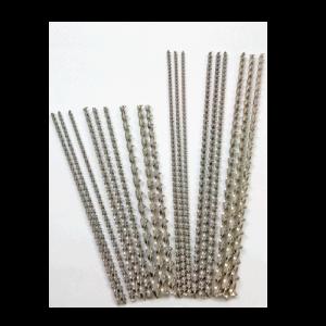 Spiralne pręty zbrojeniowe ze stali nierdzewnej {Mapei STEEL DRY 316/6/600 50szt.}