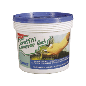 Preparat do usuwania graffit {Mapei WallGard Graffiti REMOVER GEL 5 kg}