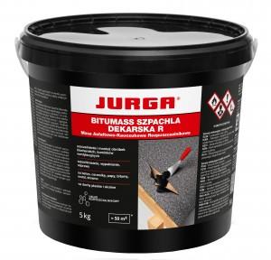 Rozpuszczalnikowa masa asfaltowa {Jurga Bitumass Szpachla Dekarska R 5 kg}