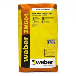 Zaprawa murarska {Weber ZM504 25 kg}
